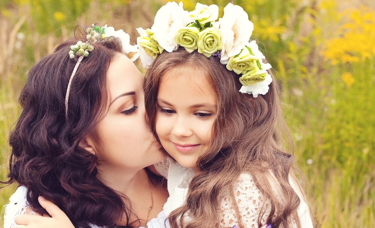 Фото мамку с дочкой 2 фотография